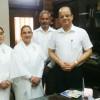 08 अक्तुबर (चंदिगढ़) राज्यपाल महोदयजी के साथ ज्ञानचर्चा.